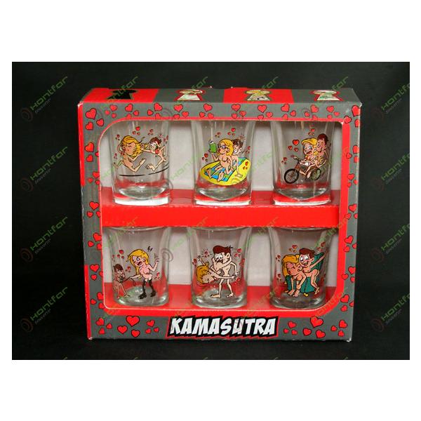 SET 6 PAH.ST.-KAMASUTRA- 7CM