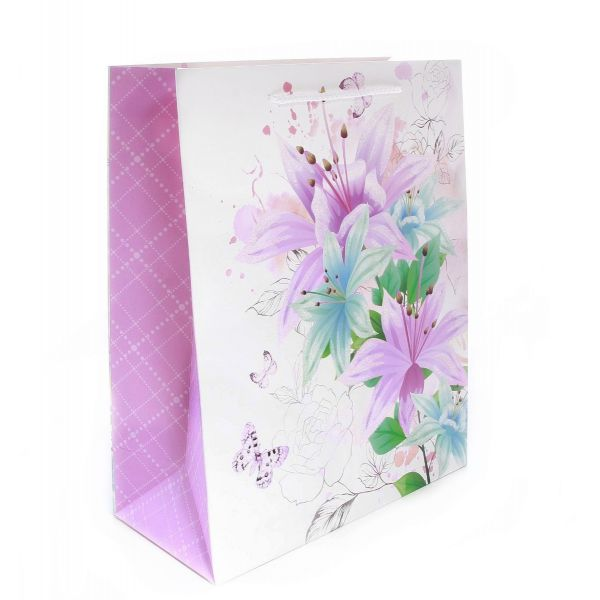 Punga cadou model floral