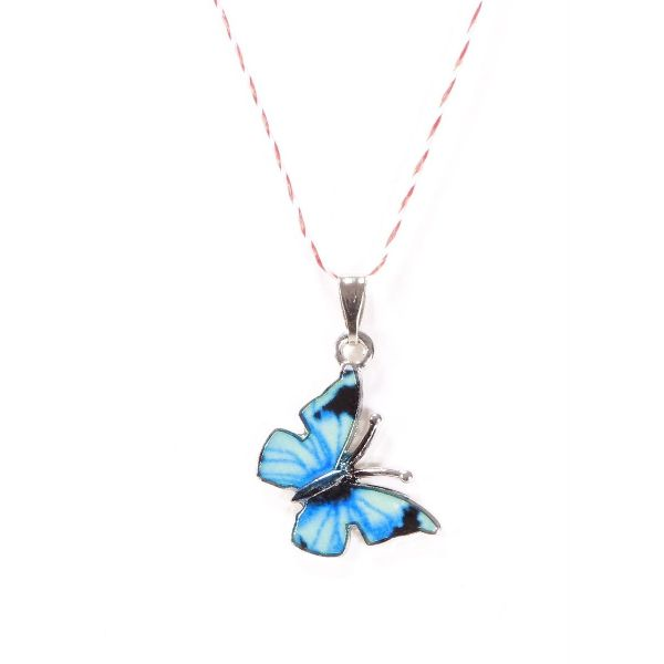 Martisor fluture albastru