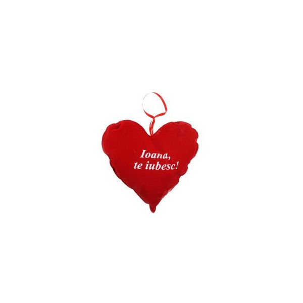 Perna inima cu mesaj