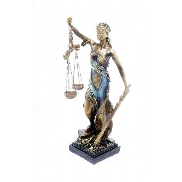 Statueta Zeita Justitia