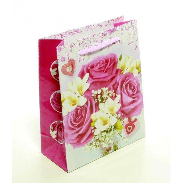 Punga de cadou imprimeu floral