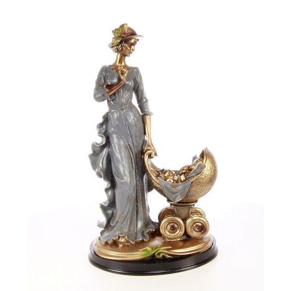 Statueta Lady & Child