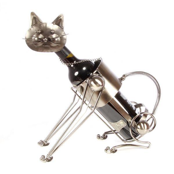 Suport de sticla pisica metal