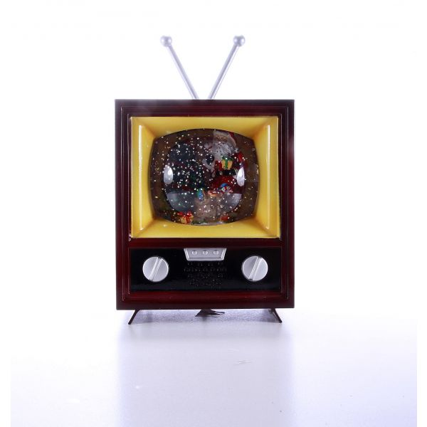 Glob lichid Craciun Televizor