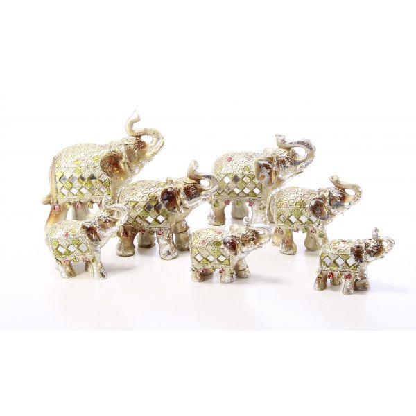Set 7 elefanti