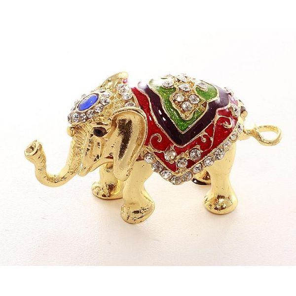 Caseta de bijuterii elefant