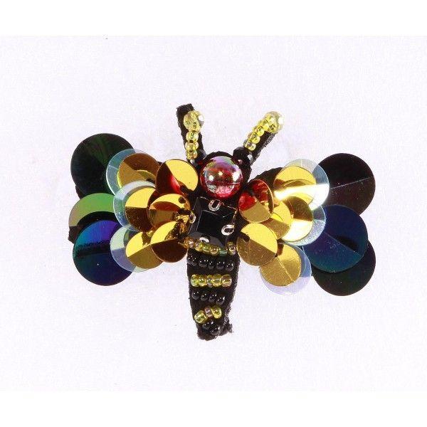 Brosa fluture colorat