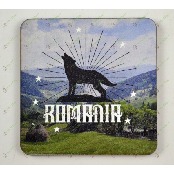 MAGNET PRINTAT-ROMANIA LUP