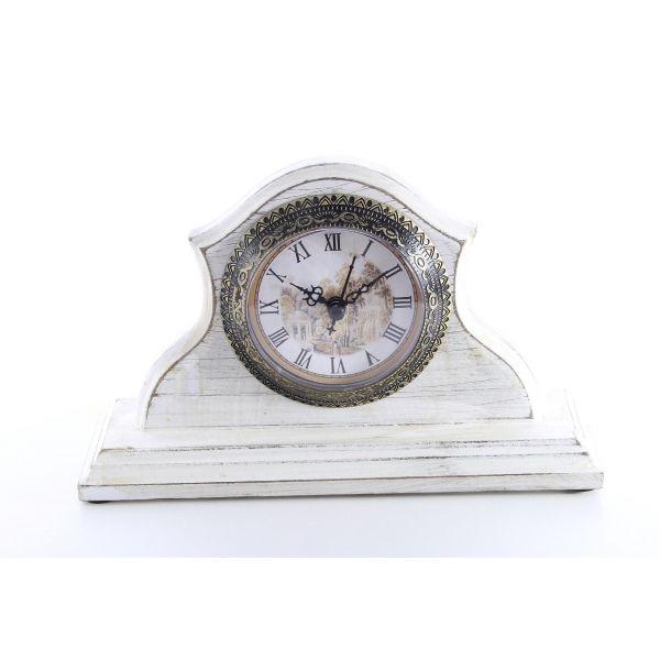 Ceas de masa vintage white