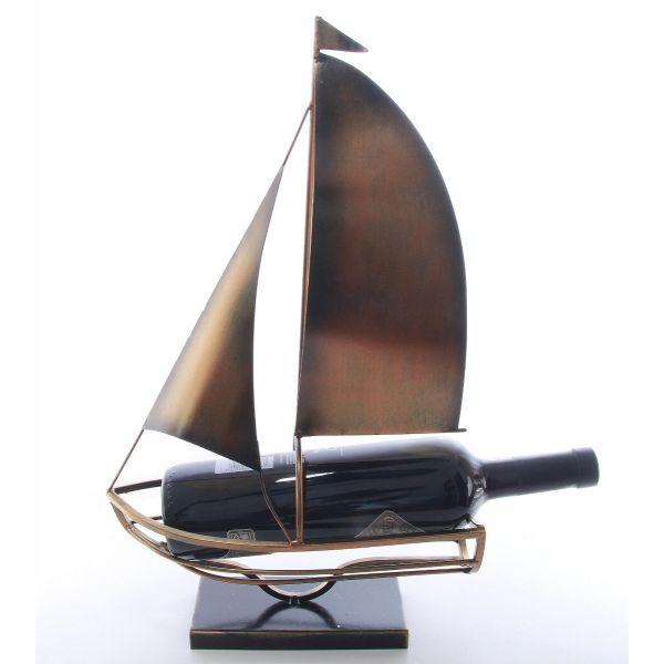 Suport de sticla barca cu panze