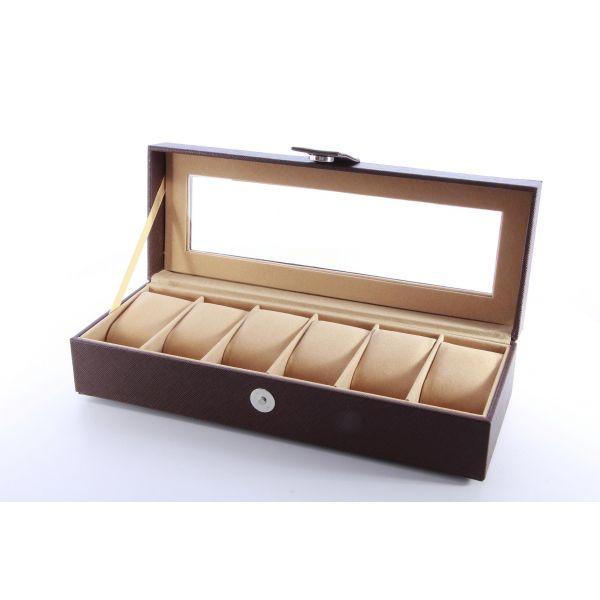 Cutie pentru ceasuri din piele ecologica A59-10
