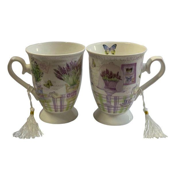 Set 2 cani lavender garden B02-62