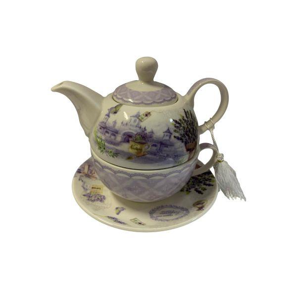 Ceainic cu cescuta lavender B02-70
