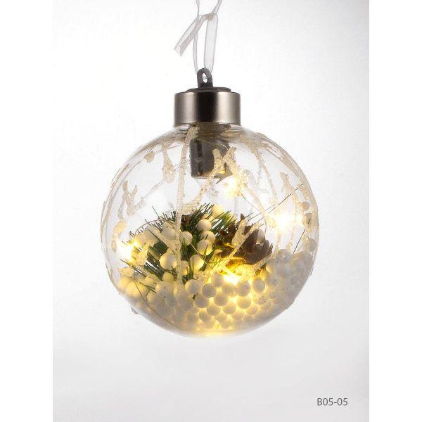 Glob cu lumina Craciun B05-05