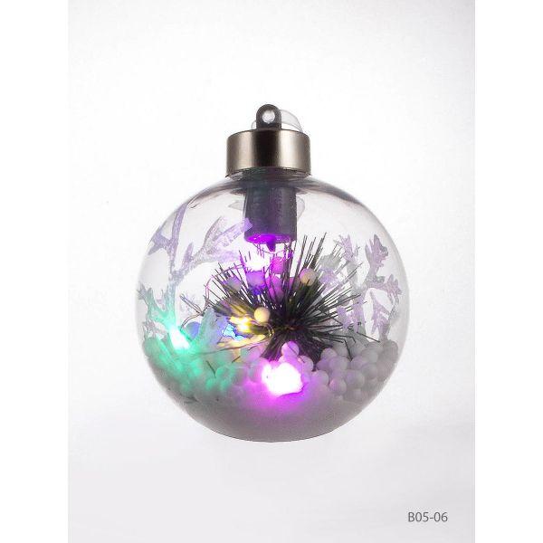 Glob cu lumina Craciun B05-06