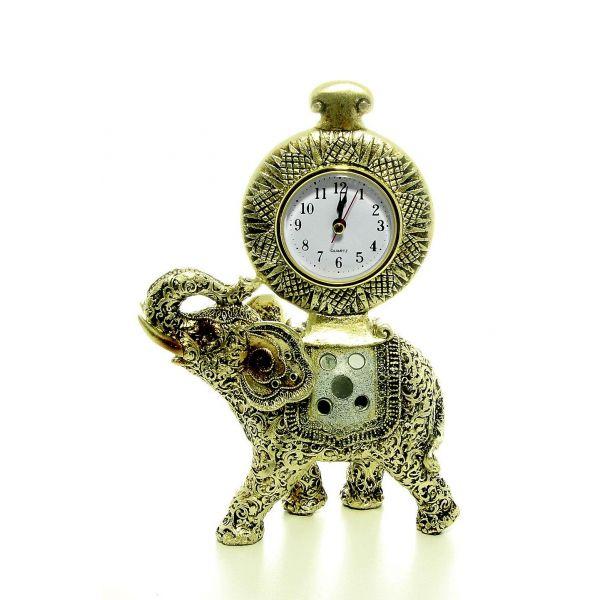 bibelou ceas de masa elefant