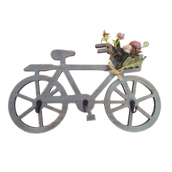 Cuier bicicleta din lemn G13-03