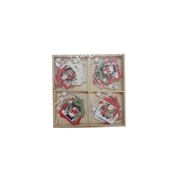 Set decoratiuni Craciun E01-08