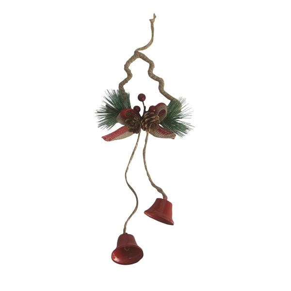 Decoratiune clopotei brad Craciun 27 cm E08-03