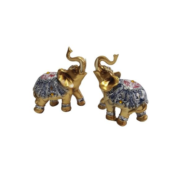 Set bibelou 2 elefanti E39-02