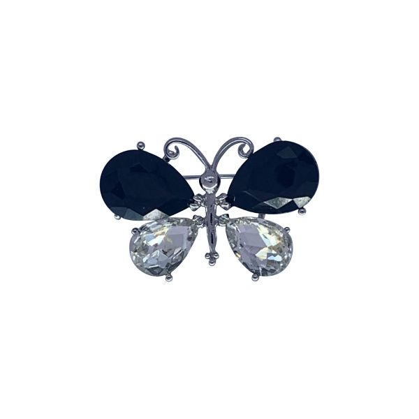 Brosa martisor fluture cu pietricele F03-04