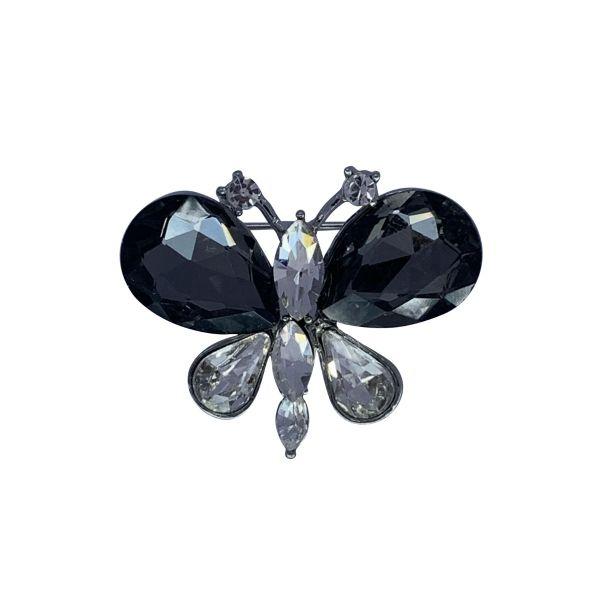 Brosa fluture cu pietricele F04-05