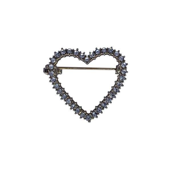Brosa inima cu pietricele F04-09