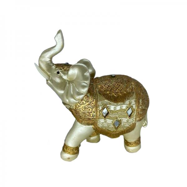 Bibelou elefant auriu F23-07