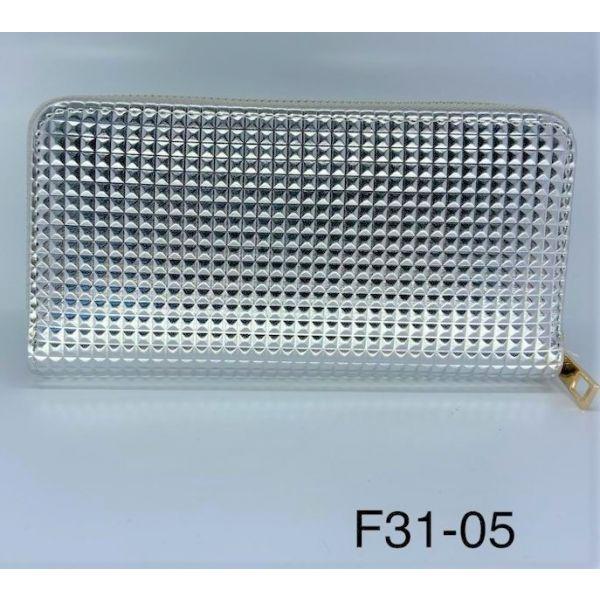 Portofel de dama argintiu F31-05