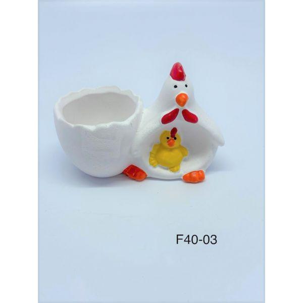 Suport pentru ou gaina si pui F40-03