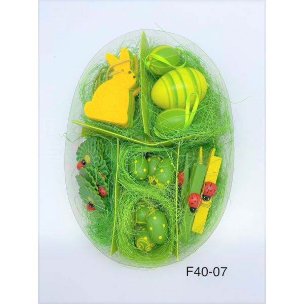 Set decoratiuni Paste F40-07