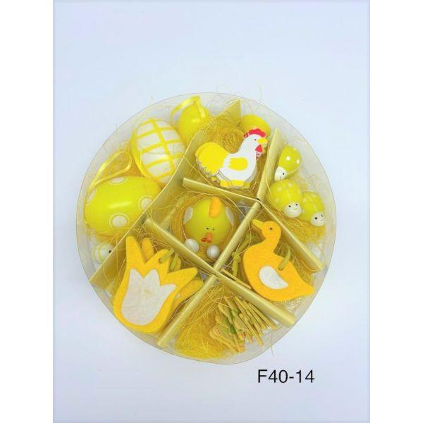 Set decoratiuni Paste F40-14