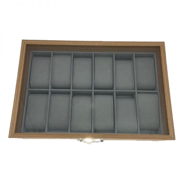 Cutie pentru ceasuri din lemn F44-06