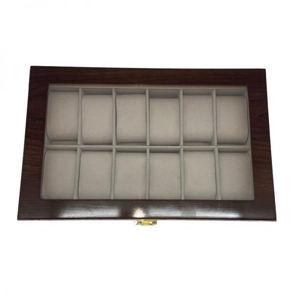 Cutie pentru ceasuri din lemn F44-07