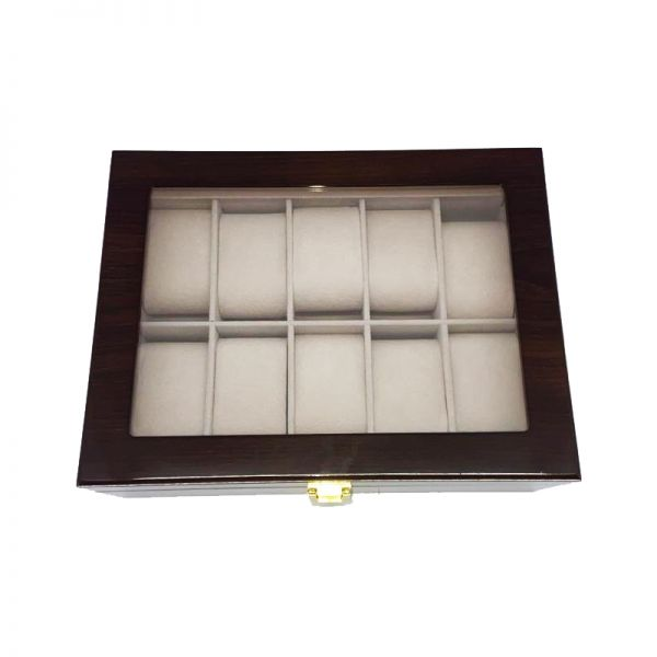 Cutie pentru ceasuri din lemn F44-08