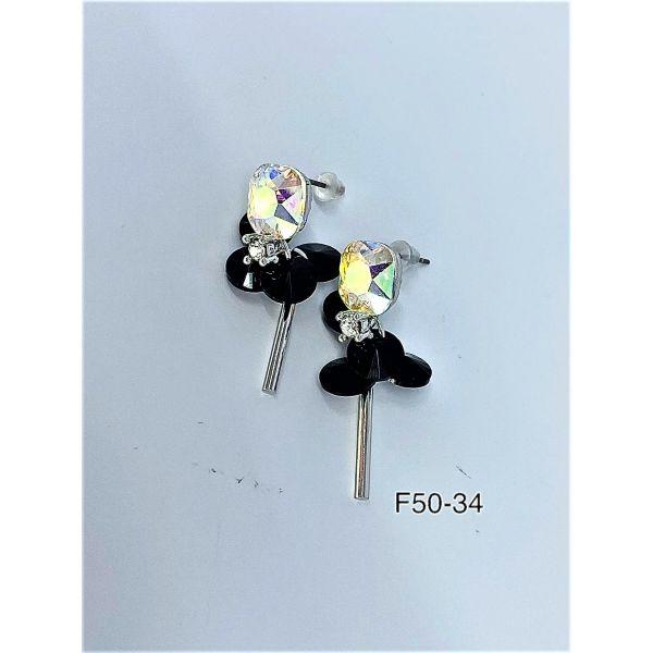 Cercei cu pietricele F50-34