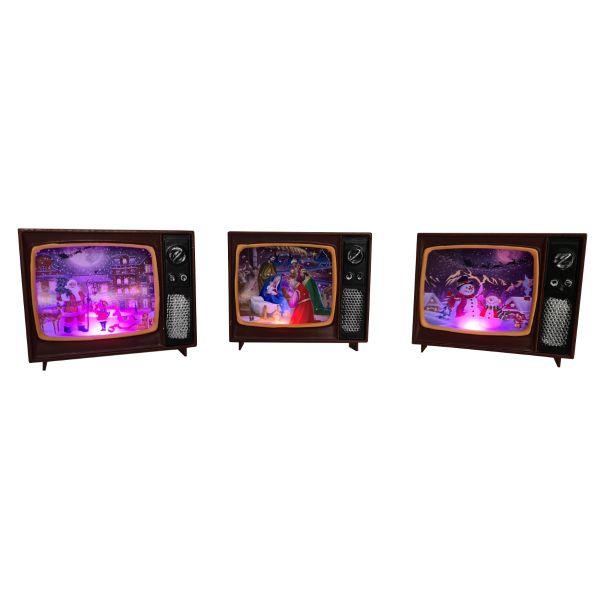 Televizor Craciun cu lumina G06-13