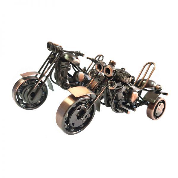 Macheta motocicleta din metal G09-14