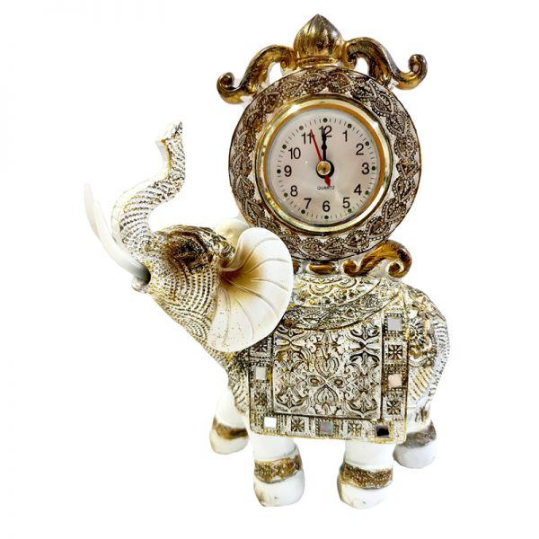 Ceas de masa elefant din rasina G11-17