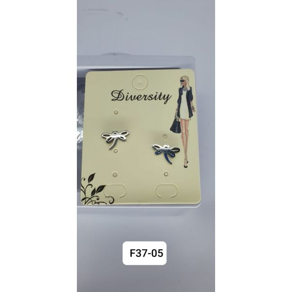 Cercei libelula inox G37-01