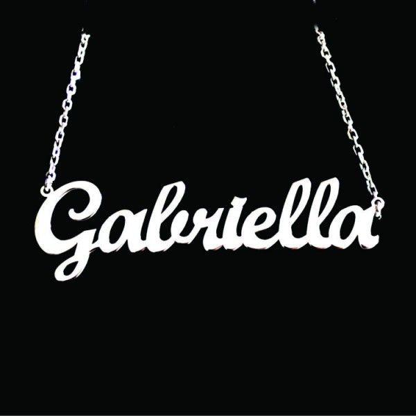 Pandantiv nume Gabriela A81-17