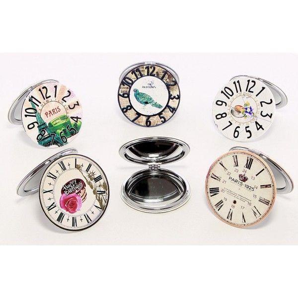 Oglinda pentru poseta ceas vintage