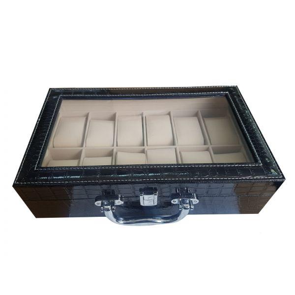 Cutie pentru ceasuri din piele ecologica EM27-07